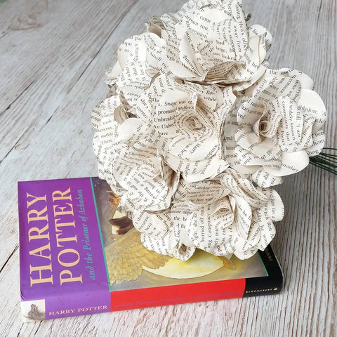 Harry Potter Paper Flower Bouquet