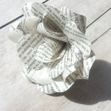 Pride & Prejudice Book Paper Flower