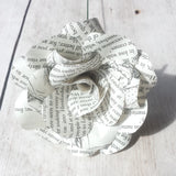 Pride & Prejudice Book Paper Flowers