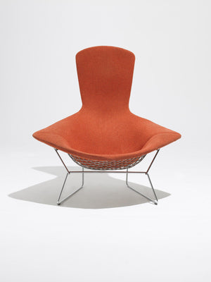 Bertoia Bird chair, red Tonus upholstery