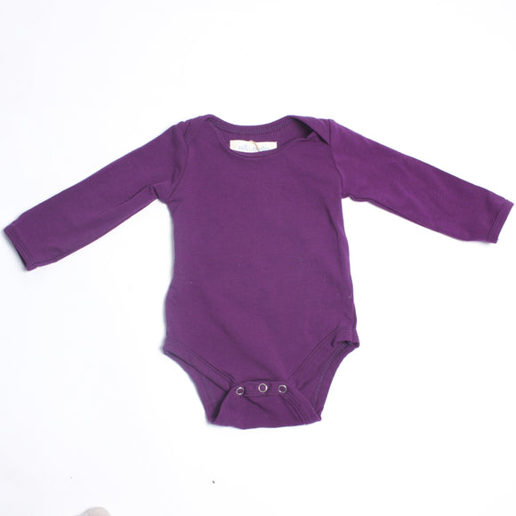 Isa & Bella Purple Onesie