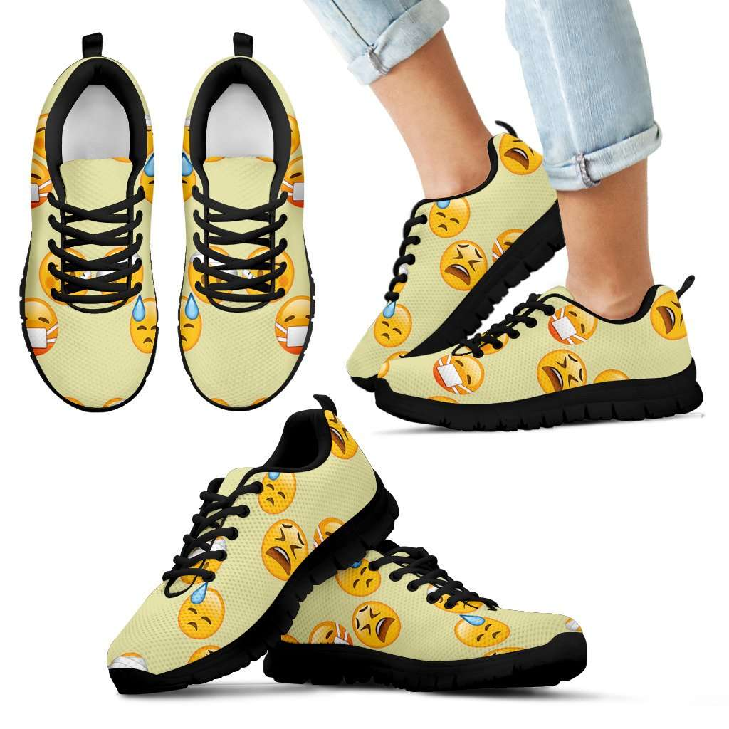Emoji Sick Kids Sneakers