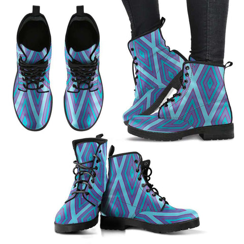 Frozen Diamond Womens Leather Boots