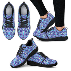 Mermaid Womens Athletic Sneakers - STUDIO 11 COUTURE
