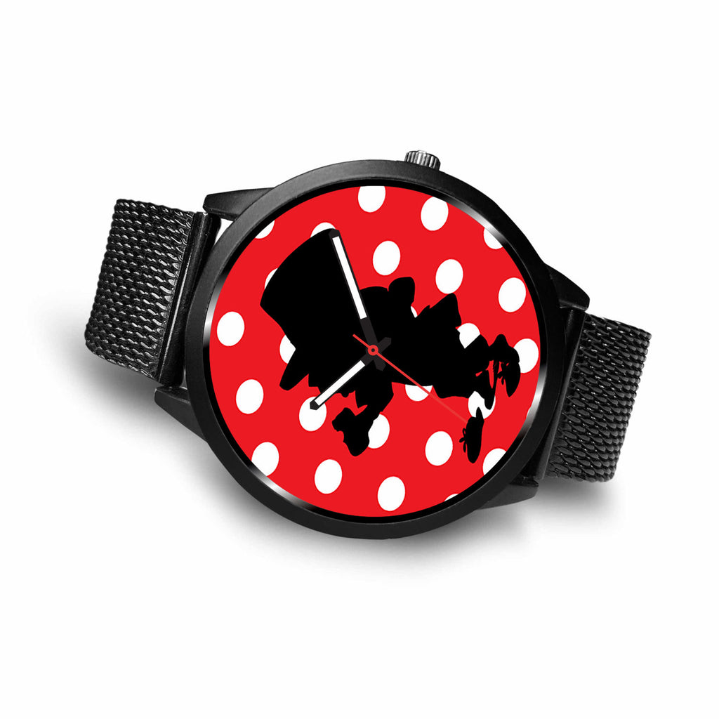 Limited Edition Vintage Inspired Custom Watch Alice Shadows 41.20