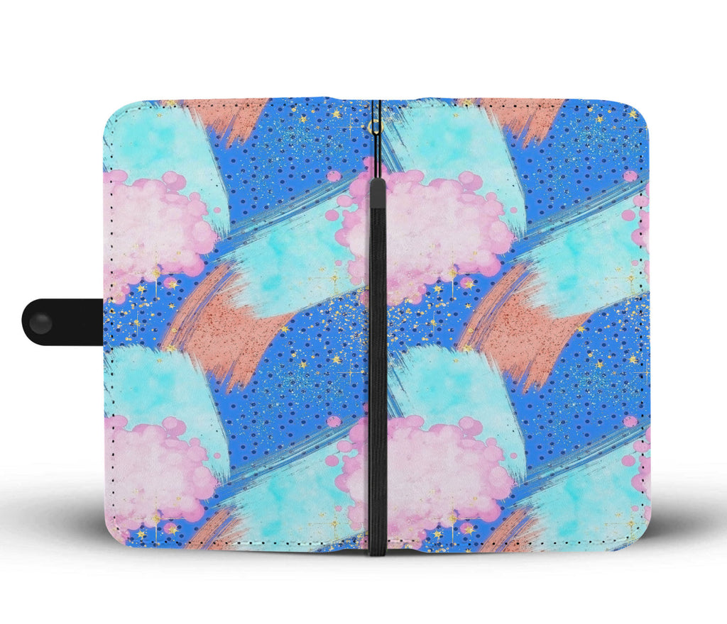 Custom Phone Wallet Available For All Phone Models 80's Fashion 13 Phone Wallet - STUDIO 11 COUTURE
