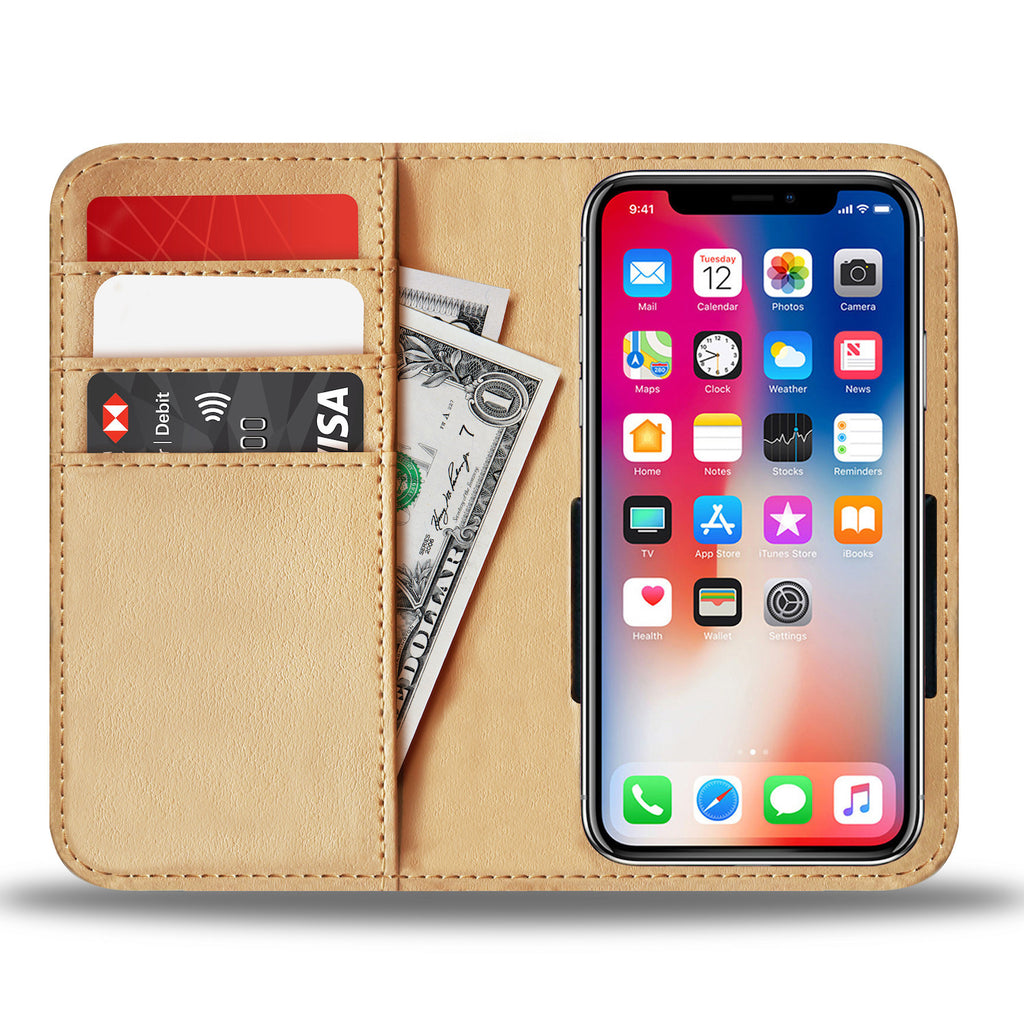 Custom Phone Wallet Available For All Phone Models Galaxy Pastel 6 Phone Wallet - STUDIO 11 COUTURE