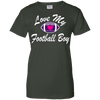 Image of Love My Football Boy Ladies Tee