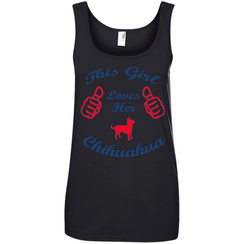 This Girl Love Chihuahua Ladies Tee - STUDIO 11 COUTURE