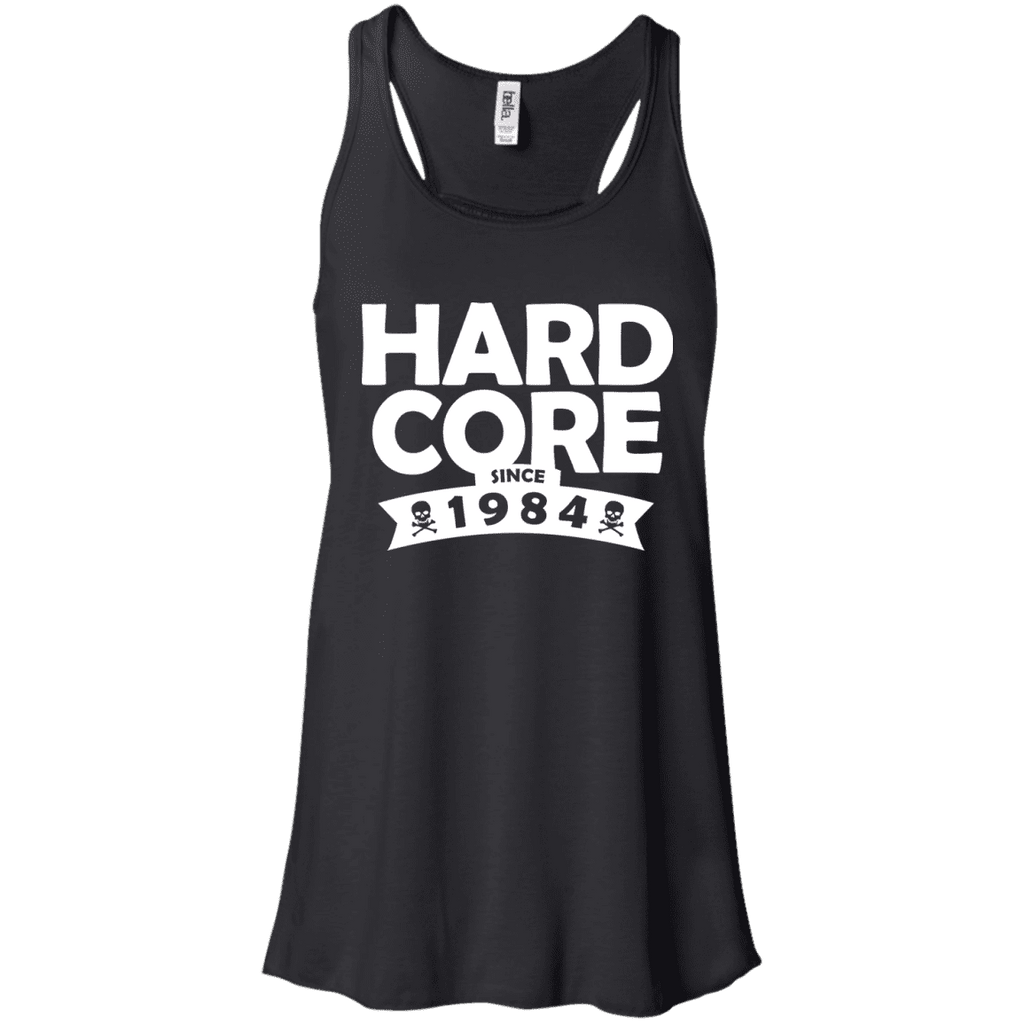 Hardcore Since 1984 Ladies Tee - STUDIO 11 COUTURE