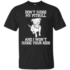 Don't Judge My Pitbull Men Tee