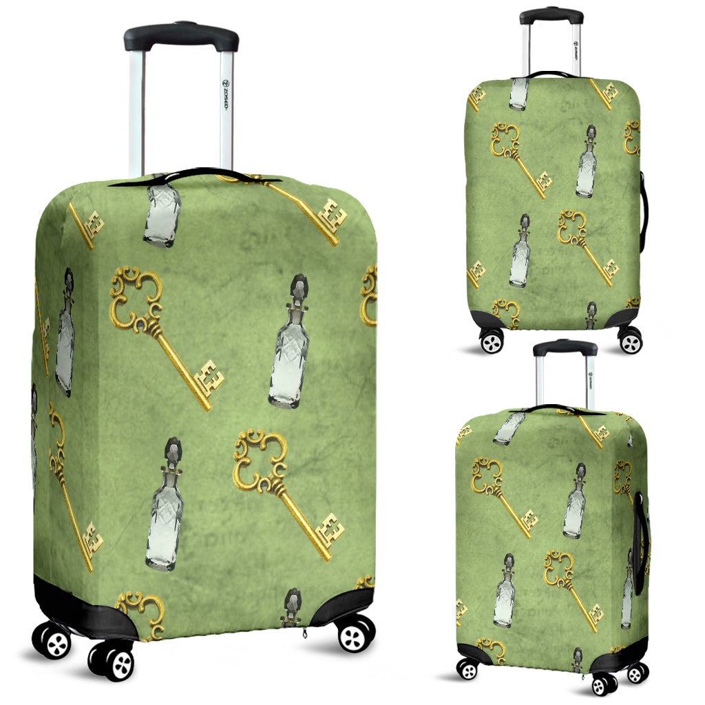 Alice in Wonderland 7 Luggage Cover - STUDIO 11 COUTURE