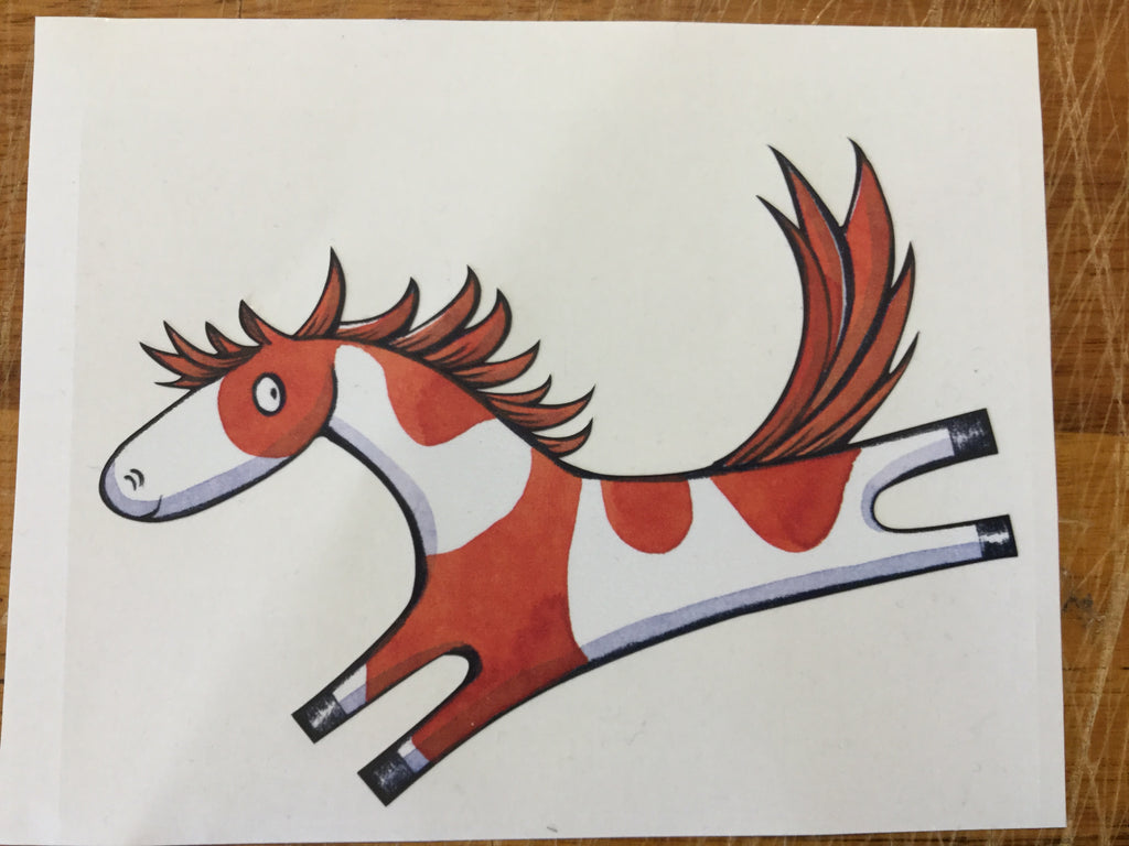 Noni the Pony sticker