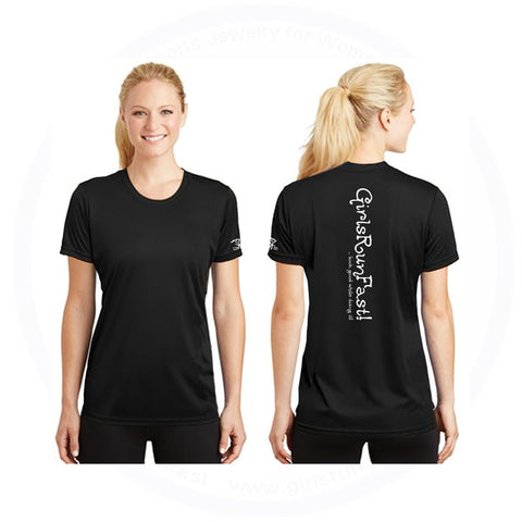 Women's Running Jewelry #GirlsRunFast #running tech shirts. #RunBeautiful