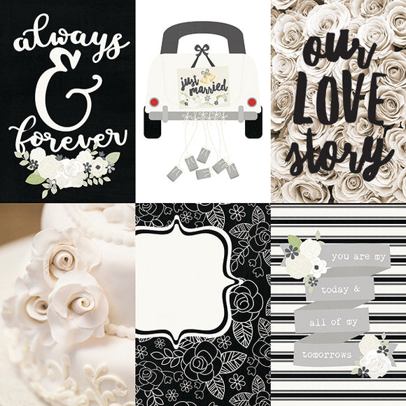 Simple Stories Cut-Outs - Always & Forever - 4x6 Vertical Elements
