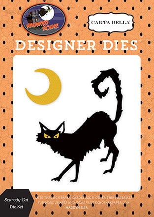 Carta Bella Designer Dies - Haunted House - Scaredy Cat Set