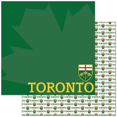 Reminisce Papers - Passports - Toronto - 2 Sheets