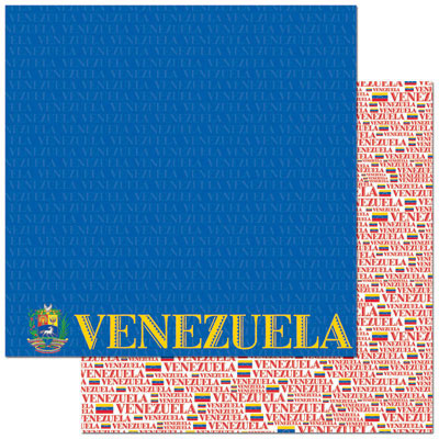 Reminisce Papers - Passports - Venezuela - 2 Sheets