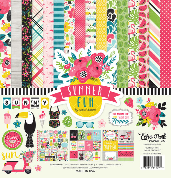 Echo Park Collection Kit - Summer Fun
