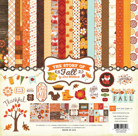 Echo Park Collection Kit - The Story of Fall