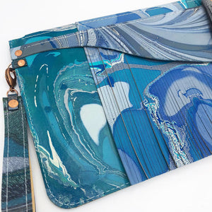 Prussian Flounce Wristlet - No One Alike
