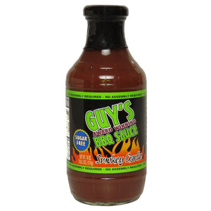 Guy's - Sugar Free BBQ Sauce - Smokey Garlic - 18 oz