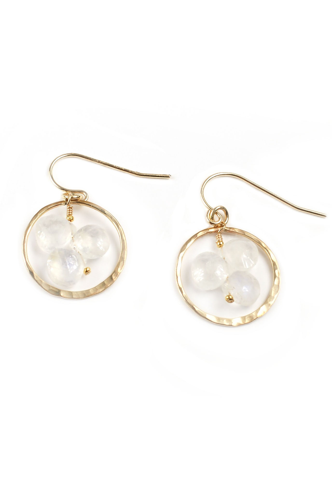 Moonstone Trio Earrings