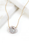 Grey Keshi Pearl Necklace