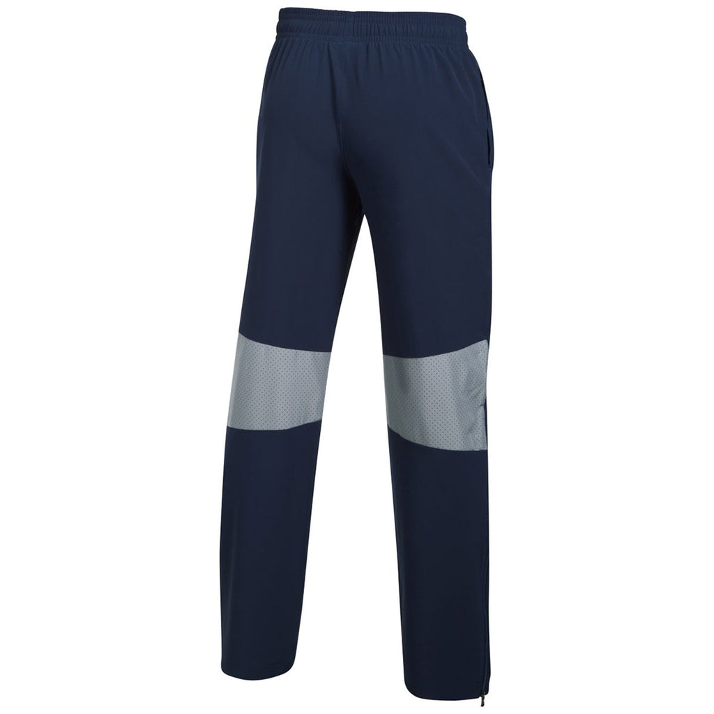 Under Armour Men's Midnight Navy Squad Woven Warm-Up Pant