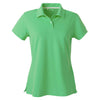 adidas-womens-light-green-pique-polo