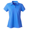 adidas-womens-blue-pique-polo