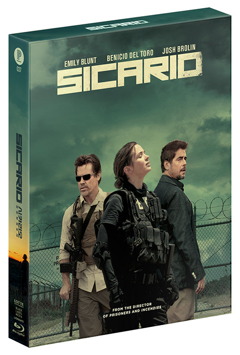 SICARIO Steelbook: Full Slip with Lenticular (Type B)