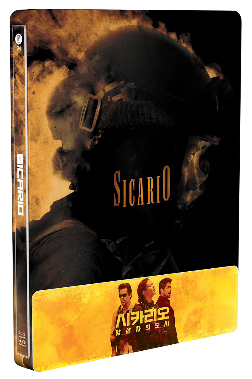 SICARIO Steelbook: 1/4 Slip with Lenticular