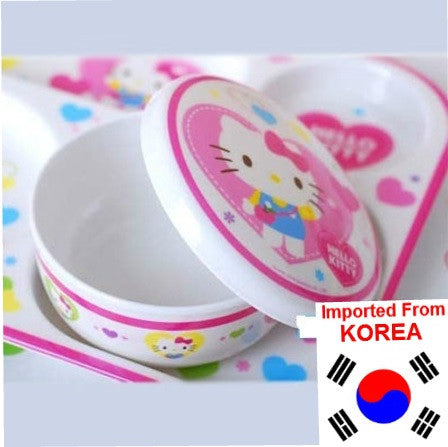 HELLO KITTY  RICE BOWL WITH LID