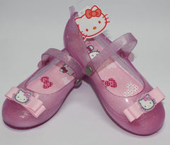 HELLO KITTY KIDS JELLY SHOES WITH STRAP-PINK K 3157 [MADE IN TAIWAN]