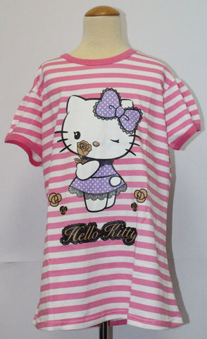HELLO KITTY ADULT SET TOP+SHORTS KT 10004