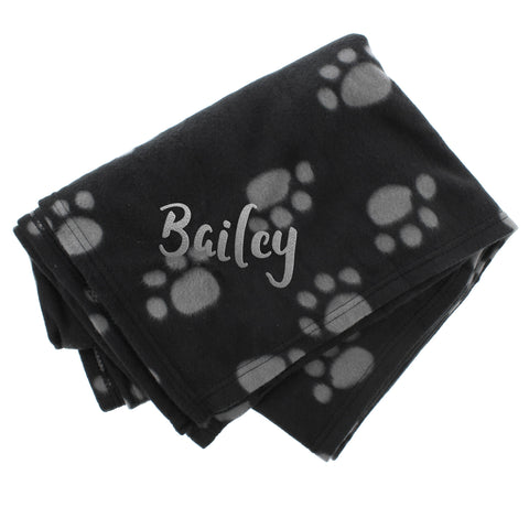 Personalised Dog Blanket made from Fleece