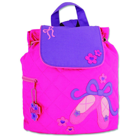 Stephen Joseph Children's Backpack - Ballet Shoes