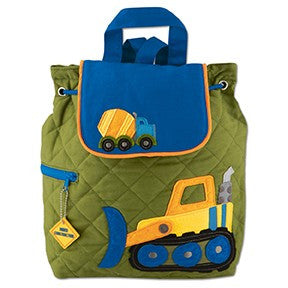 Stephen Joseph Children's Backpack - Construction Vehicles