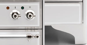 Majestic Milano 100cm Twin Dual Fuel Range Cooker Knobs