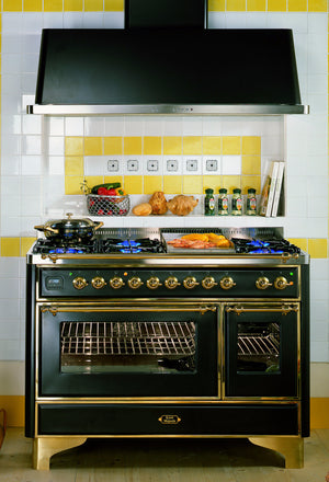 Majestic Milano 120cm 90 / 30 Twin Gas Range Cooker Green