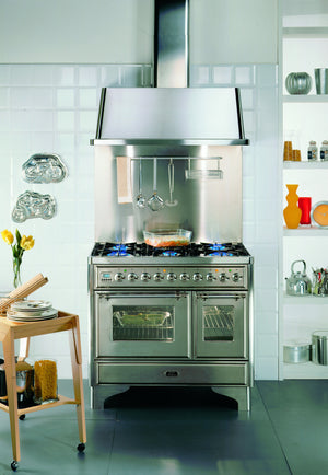 Majestic Milano 100cm Twin Dual Fuel Range Cooker