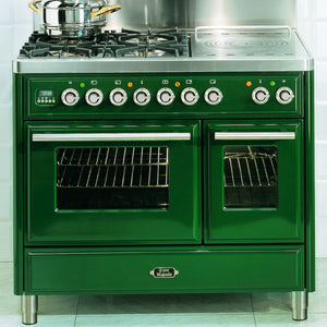 100cm Twin Dual Fuel Range Cooker