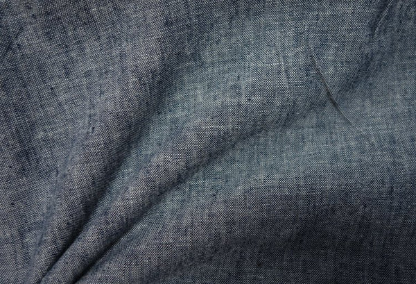 Navy - Yarn Dyed Linen Cotton - 1/2 metre