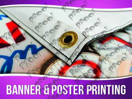 Banner and Poster Printing Signage - Horizontal