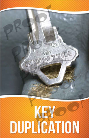 Key Duplication Signage