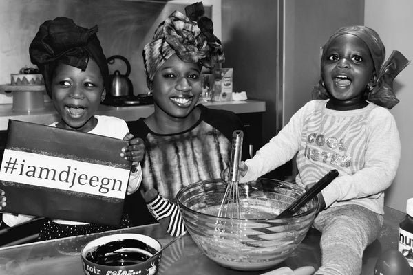 International djeeg'n (woman) day! #iamdjeegn