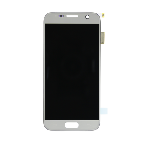 Samsung G930F Galaxy S7 LCD Digitizer Display silber