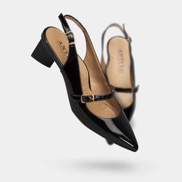The Gigi - Black Patent