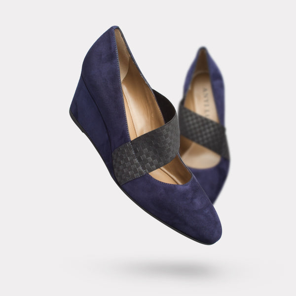 The Katia - Midnight Suede